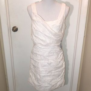 NWT Express White Lace Spring Dress Size 12
